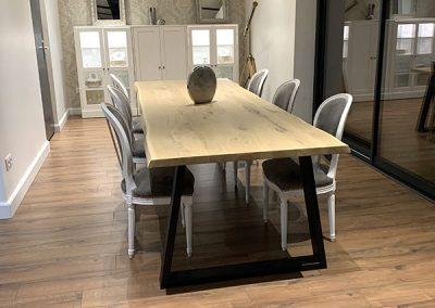 table-chene-unique-bois-vanelsen-wood-mouscron-herseaux-hainaut-belgique-lille-france