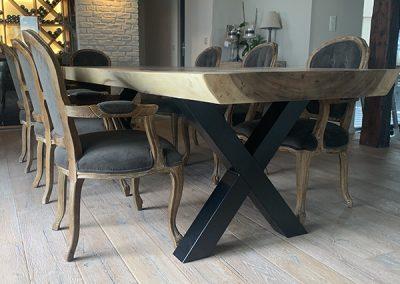 table-suar-bois-unique-sur-mesure-france-belgique